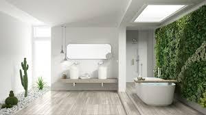 mit richtiger badezimmereinrichtung zum entspannungsort