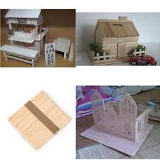 Image Is Loading 50 Pcs 11 4cm DIY Cake Wooden Handicraft