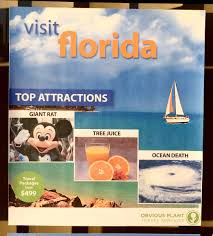 Obvious Plant On Twitter I Left Some State Tourism Flyers Outside A Local Travel Agency