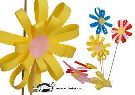Paper Flower Making For Children