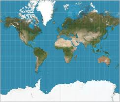 Is There A World Map Or Globe That Realistically Shows The Sizes Of Countries Since Near Equator Tend To Look Smaller