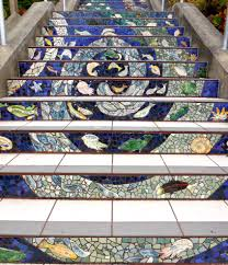 16th Avenue Tiled Steps In San Francisco by San Francisco 16th Avenue Tiled Steps Project Beverly Shipko Artist