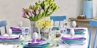 How To Decorate Kitchen Table For Easter Lovely Design Magnificent Candle Decorations Dining Room