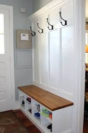 Entryway Bench And Coat Rack Found This Mudroom Storage Bench With