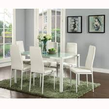 100 6 Chairs For Dining Room Amazoncom IDS Online 7 Pieces Modern Glass Table Set Faxu