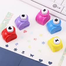 2PCS Mini Kids Gift Scrapbooking Punches Handmade Card Craft Printing Hole Punch DIY Flower Paper