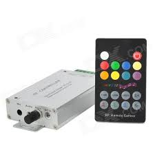 288W RGB LED Light RF Music Controller w Remote Controller