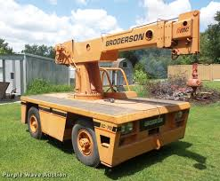 Right Size Trucks For 825 Deck by Broderson Ic 70 Carry Deck Crane Item Dc5489 Sold Septe