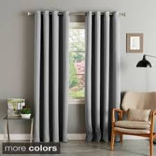 Thermalogic Curtains Home Depot by Thermalogic Apollo Insulated Curtain Black 50 Inches X 84