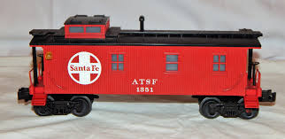 100 Dc Toy Trucks Buy MTH 337804 Santa Fe Railroad Woodsided Caboose Lighted ATSF