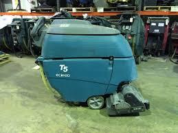 refurbished used tennant t5 walk behind floor scrubber tennant