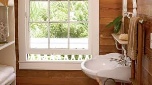 Plants For Bathroom Without Windows by Beach House Bathrooms Coastal Living