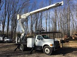 Ford F750 Bucket Trucks / Boom Trucks In Pennsylvania For Sale ...