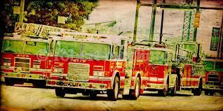 BCFD Fire Parade Trucks