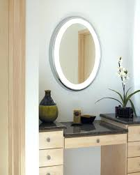 wall mirrors lighted bathroom mirror wall mount zadro 10x