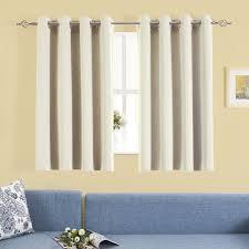 Sound Reducing Curtains Amazon by Amazon Com Blackout Curtains Set Aquazolax Decorative Eyelets