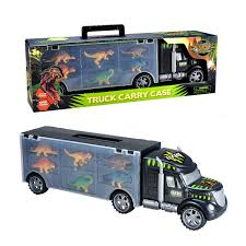 Megatoybrand Dinosaurs Transport Car Carrier Truck Toy With Dinosaur ... Prtex 60cm Detachable Carrier Truck Toy Car Transporter With Product Nr15213 143 Kenworth W900 Double Auto 79 Other Toys Melissa Doug Mickey Mouse Clubhouse Mega Racecar Aaa What Shop Costway Portable Container 8 Pcs Alloy Hot Mini Rc Race 124 Remote Control Semi Set Wooden Helicopters And Megatoybrand Dinosaurs Transport With Dinosaur Amazing Figt Kids 6 Cars Wvol For Boys Includes Cars Ar Transporters Toys Green Gtccrb1237