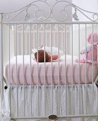 Bratt Decor Joy Crib by Casablanca Crib Distressed White