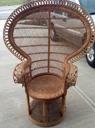 Image Of Vintage Wicker Furniture Shapes