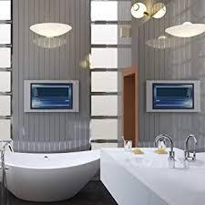 badezimmer verkleidung aus chrom glänzend für dusche pvc
