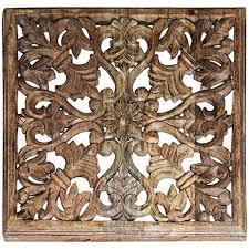 wandskulpturen marokkanisches fliesen design als dekoration