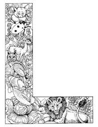 Coloring Pages Animals Alphabet 25