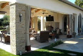 outdoor curtain hardware porch contemporary with bamboo bertoia