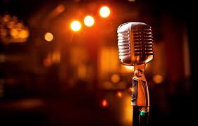 Photo Wallpaper Light Scene Microphone
