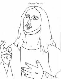 Free Printable Jesus Coloring Pages For Kids In Christ