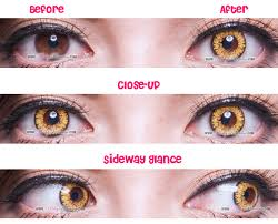 Theatrical Contacts Prescription by Princess Pinky Twilight Brown Circle Lenses Colored Contacts