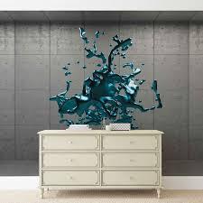 abstrakt beton farbe design fototapete