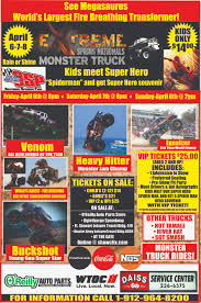 100 Truck Shows Tickets For MONSTER TRUCK SPRING NATIONALS In POOLER From ShowClix
