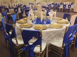 Blue And Gold Wedding Decorations Diy Yellow Royal Decoration Ideas
