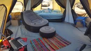 Vinyl Floor Seam Sealer Walmart by Ozark Trail 14 Person 4 Room Base Camp Tent Walmart Com