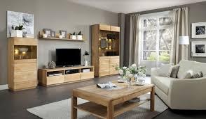 wohnzimmer einrichtung wohnzimmer komplett set a fazenda 5 teilig teilmassiv farbe natur