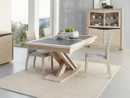 table à manger osiris en chêne avec pied central meubles bois massif