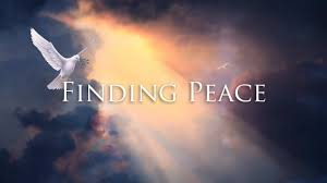 Finding PEACE Shalom In Life