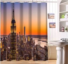 vente en gros new york city shower curtain galerie achetez à des