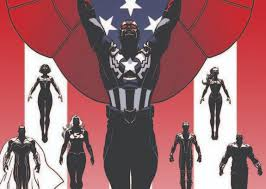 SDCC 2014 AVENGERS War Teased As FALCON CAP Joins MIGHTY