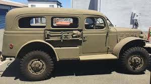 100 53 Dodge Truck 39500 1942 WWII WC Carryall WCalif Title For Sale