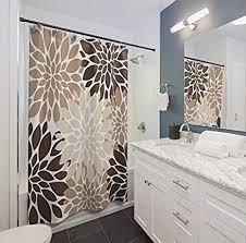 thomas655 duschvorhang beige braun creme heimdekoration neutrale farben badezimmer badezimmer wohnheim mädchen dekoration geschenk