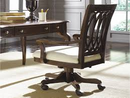 Wayfair Swivel Desk Chair by Wood Swivel Desk Chair Wood Desk Chair Perfect For Your Space