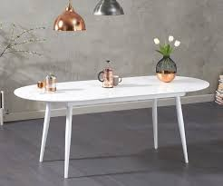 100 White Gloss Extending Dining Table And Chairs Mark Harris Opel Only FDUK BEST PRICE GUARANTEE WE WILL BEAT OUR COMPETITORS PRICE Give Our Sales Team A Call On