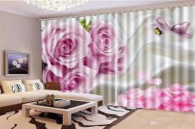 großhandel blackout curtain preis rosa schmetterlings fliegen tanz vorhänge wohnzimmer schlafzimmer vorhang dekoration beste yunlin189 38 78
