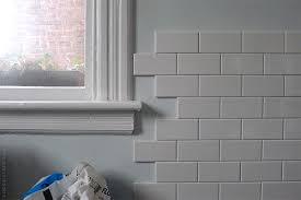 kitchen tiling progress door sixteen