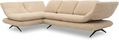sofagarnituren 132x83x44 cm hocker in anthrazit domo