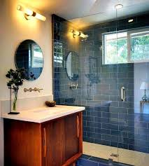 Fantastic Kitchen Sink Shower Screen Vanity Bath Ideas Spectacular Mid Century Bathroom Modern