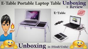 Nextech Internet Help Desk by E Table Portable Laptop Table Unboxing Complete Review Hindi