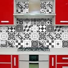 kit 48 wandtattoo für küche fliesen schwarz weiß