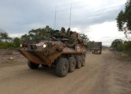 100 Sabre Trucks File214th Light Horse Regiment ASLAV And Trucks During Exercise
